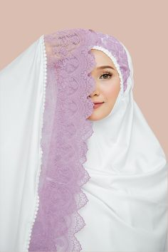 Islamic Fashion, Muslim Fashion, Diy Flowers, Flower Diy, Sewing Blouses, Diy Crafts For Gifts, Hijab Outfit, Camilla, Lavender