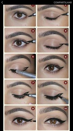 how to put on mascara and eyeliner for beginners