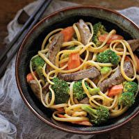 Beef Noodle Bowl by Kraft Foods ~ everyone enjoyed this dish except for Ian (he's picky about his Chinese food).  Will be making this again!