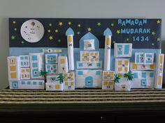 Ramadan Calendar... inshaAllah im making this for the kids this year!
