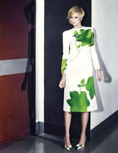 Carmen Kass by Choi Yongbin  Harper's Bazaar Korea