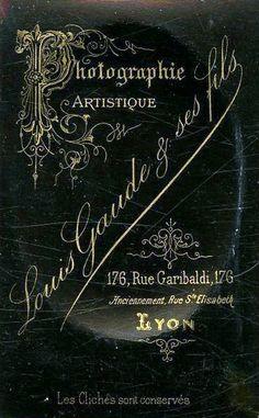 GAUDE Louis et ses fils - Lyon (ebay)