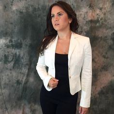Dolce & Gabbana white blazer Dolce & Gabbana white blazer with gold button detail. Worn only three times.  Perfect condition. Style number SJ0090/TNFA7. Absolutely gorgeous jacket to be paired with anything.  Classic and timeless chic piece for your wardrobe.  Paired with dark denim and black heel.  Perfect for fall Dolce & Gabbana Jackets & Coats Blazers