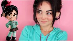 Vanellope Von Schweetz is a spunky adorable little girl from the land of Sugar Rush in the movie Wreck-it-Ralph! Here is a tutorial on how to achieve her cute look for cosplay, Halloween, or. Cosplay Tips, Epic Cosplay, Amazing Cosplay, Cosplay Outfits, Cosplay Costumes, Disney Cosplay, Cosplay Anime, Cosplay Makeup, Costume Halloween