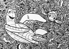 102 best disney adult coloring pages