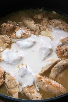 sio-smutki! Monika od kuchni: Filet z kurczaka w sosie koperkowym Food Design, Camembert Cheese