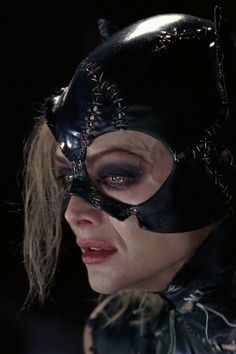 Batman Returns. Michelle Pfeiffer is definitely my favorite cat woman