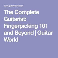 85 Best Guitar fingerpicking images in 2019 | Guitar Chords, Guitar