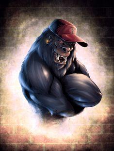 Bad Monkey design by Thib