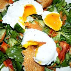 Oua posate sau ochiuri romanesti | Pofta Buna! 30 Minute Meals, Caprese Salad, Eggs, Breakfast, Olympus, Digital Camera, Food, House, Ideas