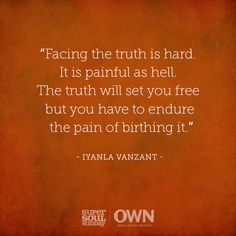 """Iyanla Vanzant had to acknowledge her truth and her past to become a stronger woman. On #SuperSoulSunday, she's reminding us of the incredible things that can happen when we choose to """"do the work""""."""