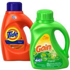 En Rite Aid puedes conseguir el detergente liquido Tide o Gain a $5.00 en especial. Compra (1) y utiliza (1) cupón digital de Rite Aid de $..