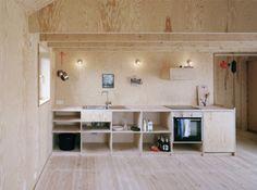 Kitchen Space Summer House Sweden