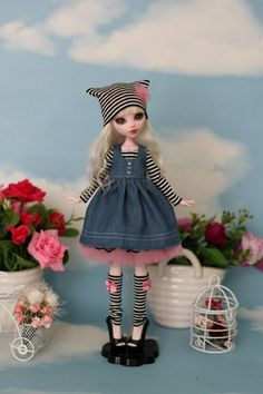 Outfit for Monster High / Ever After High Obitsu by ElenaShowRoom