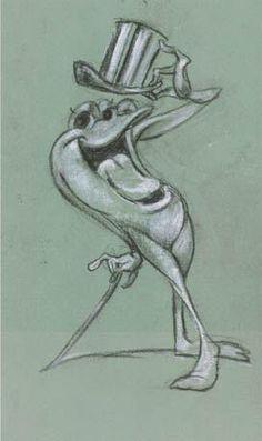 Michigan J. Frog, Chuck Jones illustrator