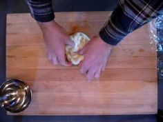 how to make hand pulled noodles part 1 - YouTube