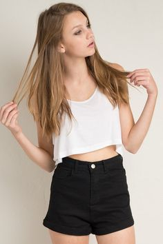 Brandy ♥ Melville | Reina Shorts - Shorts - Bottoms - Clothing