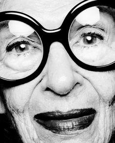 Roger Dekker portraits - Iris Apfel