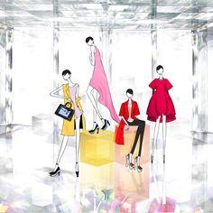 Dior FW14_Personal - JSK Fashion Illustration