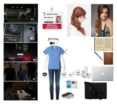 """""""Beacon Hills Memorial Hospital"""" by mkat99 ❤ liked on Polyvore featuring Frame Denim, Roxy, Allurez, Samsung, Converse, Identity, Coach and Ally Capellino"""