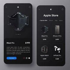 UI by - chosen by -⠀⠀⠀⠀⠀ -⠀⠀⠀⠀⠀ -⠀⠀⠀⠀⠀ -⠀⠀⠀⠀⠀ -⠀⠀⠀⠀⠀ Android Design, App Ui Design, Mobile App Design, Interface Design, User Interface, Apple Store Website, Ui Ux Designer, Conception D'interface, Vector Logo Design