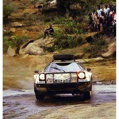 Martini Racing, Lancia Delta, Off Road, African Countries, Nose Art, First Car, Rally Car, African Safari, Road Racing