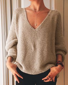 Knitting Yarn Diy, Knitting Kits, Diy Tricot Pull, Patron Crochet, Cable Knit Sweaters, Knitwear, Couture, Clothes, Marie Claire