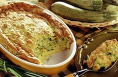 Soufflé of zucchini - Quick and Easy Recipes Vegetable Recipes, Vegetarian Recipes, Healthy Recipes, Food Porn, Salty Foods, Eat Smarter, I Foods, Food Inspiration, Love Food