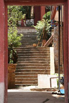 China entrance house