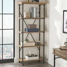 Free Shipping. Buy Better Homes and Gardens River Crest 5-Shelf Bookcase at Walmart.com