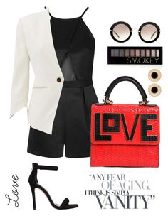 """Love"" by rominaoriggi on Polyvore featuring Topshop, Les Petits Joueurs, Miu Miu, Steve Madden, Forever 21 and Slate & Willow"