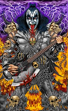 Band Wallpapers, Dope Wallpapers, Vintage Kiss, Vintage Music, Heavy Metal Music, Heavy Metal Bands, Kiss Rock, Kiss World, Gene Simmons Kiss