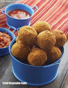 Vegetable Balls ( Delights Of Vegetarian Cooking )