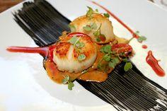 Seared Scallop @ The Eclipse Restaurant in Villa Montaña