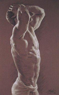 Rita Foster - male nude