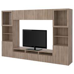 BESTÅ, TV-Komb. mit Vitrinentüren, Lappviken, Jetzt bestellen unter: https://moebel.ladendirekt.de/wohnzimmer/tv-hifi-moebel/tv-waende/?uid=1b40679b-9c32-5cd1-8fa1-0e7e0596efc2&utm_source=pinterest&utm_medium=pin&utm_campaign=boards #tvwaende #wohnzimmer #tvhifimoebel