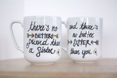 Unique Gift For Sisters Sister Mug-Sisters by ABitCuckooGifts