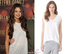 Designer Clothes, Shoes & Bags for Women Selena Gomez Closet, Award Show Dresses, Latest Outfits, Muscle Tees, Alexander Wang, T Shirts For Women, Shopping, Collection, Tops