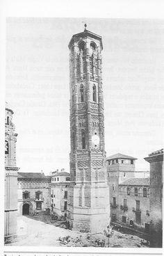 Torre Nueva Pisa, Empire State Building, Spain, Europe, Travel, Zaragoza, The Neighborhood, Antique Photos, Towers