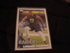 2010 Topps Football Lamarr Houston Rookie Card# 415, Oakland Raiders by jmstar98