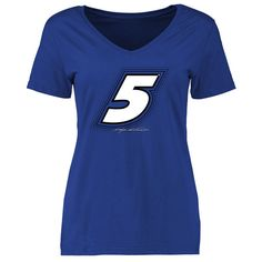 Kasey Kahne Women's Reverb Slim Fit T-Shirt - Royal - $24.99