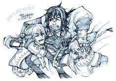 the last story family! by Ponchounette on DeviantArt The Last Story, Anime Galaxy, Cartoons, Deviantart, Games, Fictional Characters, Cartoon, Cartoon Movies, Fantasy Characters