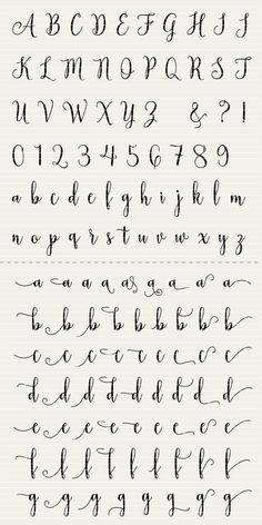 Full Alphabet SVG Fonts Cutfile - Modern Handwritten Script cricut font DXF EPS - Silhouette Cameo & Cricut - clean cutting digital files PLEASE NOTE that this is NOT font-software Alphabet Cursif, Calligraphy Fonts Alphabet, Handwriting Alphabet, Hand Lettering Alphabet, Cute Fonts Alphabet, How To Write Calligraphy, Alphabet In Cursive, Cute Cursive Font, Graffiti Alphabet