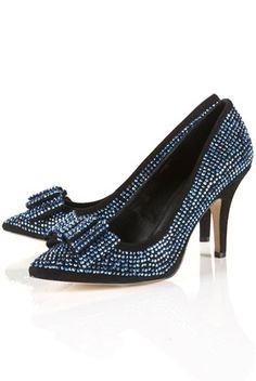 and these!!! Gem Crystal covered bow courts
