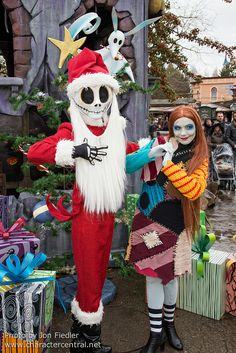 Jack and Sally - Christmas
