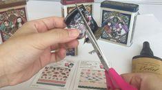 鬼滅の刃お菓子パッケージで手作りする髪ゴム | Thankyou Works Blog Stickers, Handmade, Hand Made, Decals, Handarbeit