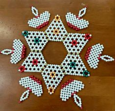 Beaded Crafts, Art N Craft, Beaded Bags, Bead Jewellery, Bottle Crafts, Bead Art, Doilies, Quilling, Folk Art