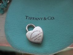 fe5861561 Authentic Tiffany & Co Heart lock charm with pouch. Free shipping and  guaranteed authenticity. Tradesy