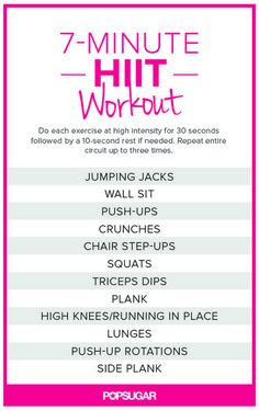 It HIIT Workout. No excuses Visit for tips + advice on health & HIIT Workout. No excuses Visit for tips + advice on health & fitness