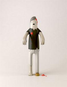 Cute Zombie toy. Yum Yum Toys Series 1 & 2 by Yum Yum , via Behance